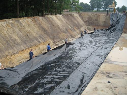 строительство навозохранилища Лагуна