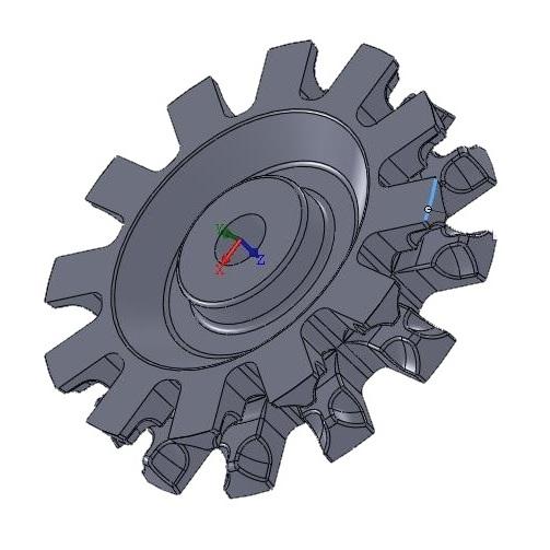 Звездочка для приводной станции De Boer 0,75 кВт, 2-я замена