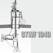 установка Миксера на мобильном шасси GTWF 1040