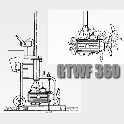 Передвижной миксер GTWF 360