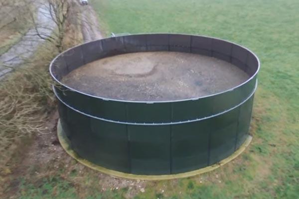 резервуар для хранения удобрений