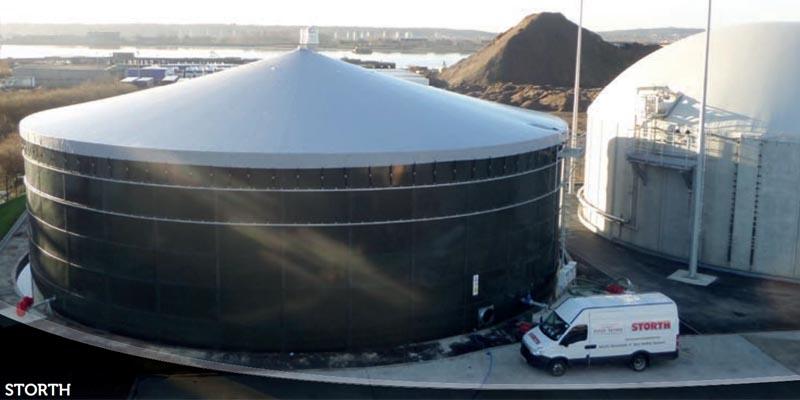 емкость -резервуар для навоза
