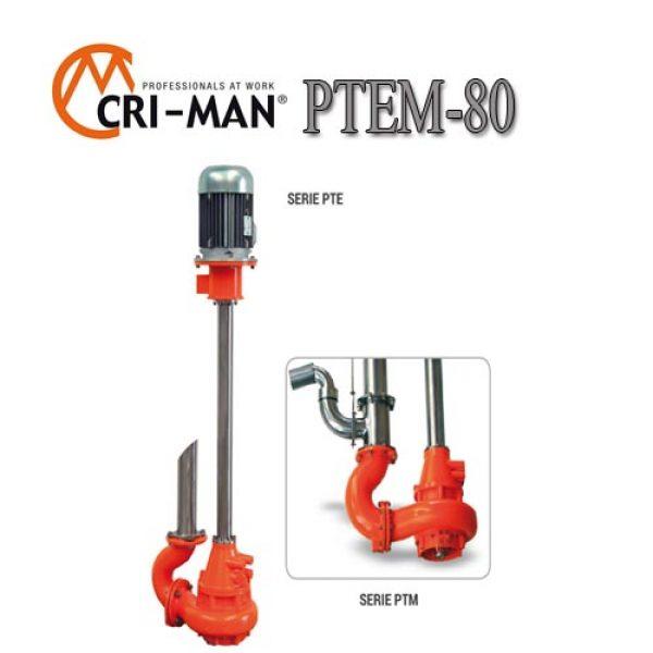 Вертикальный насос PTEM 80