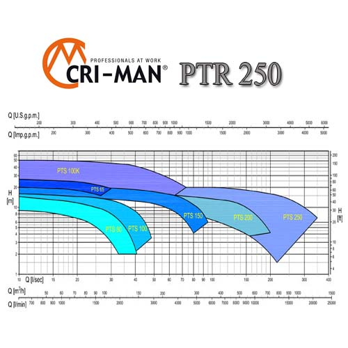 Насос измельчитель для промывки PTR 250